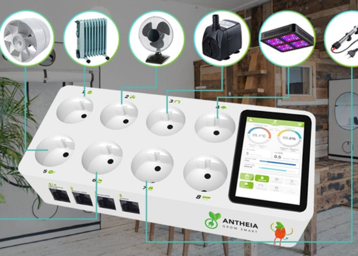 ANTHEIA smart grow monitor and assistant