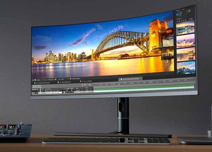 ASUS ProArt PA34VC professional ultrawide monitor supports HDR 10