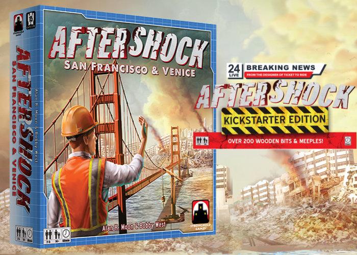 Aftershock board game Kickstarter