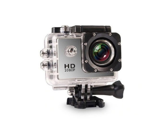 All Pro HD Waterproof Action Camera + Accessory Pack