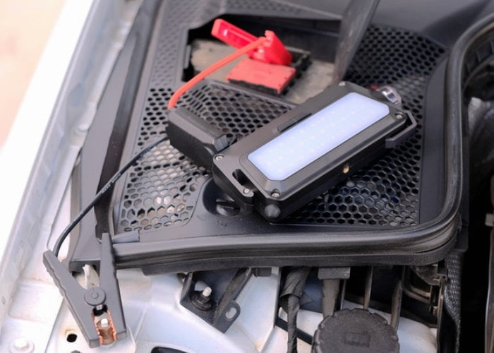 Anykit portable vehicle jump starter and power bank