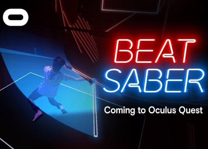 Beat Saber VR Oculus Quest
