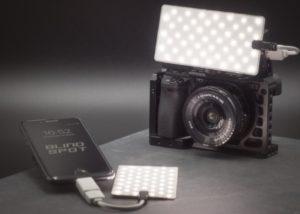 Blind Spot LED photography light