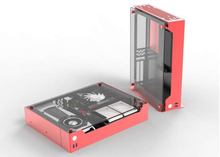 Compact Z-Case P50 premium PC case