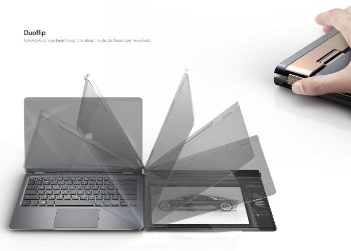 Compal DuoFlip concept laptop
