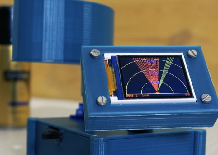 DIY Arduino radar