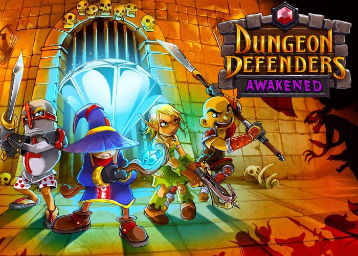 Dungeon Defenders Awakened game from Chromatic Games