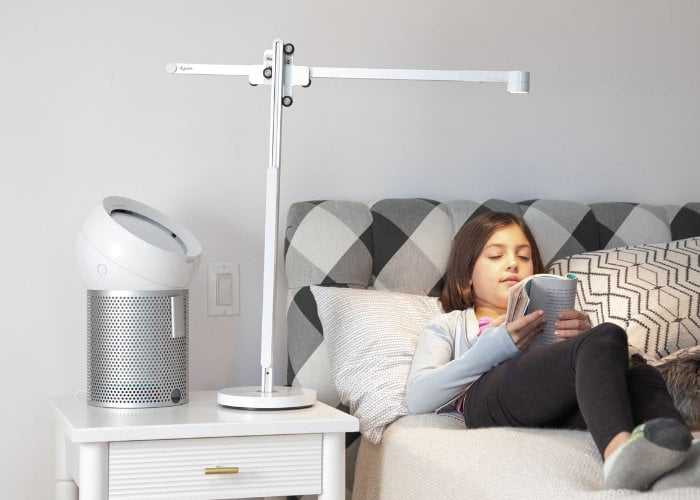 New Dyson Lightcycle desk and floor lamp from