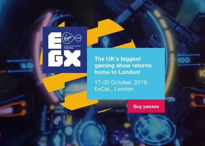EGX 2019 ticket
