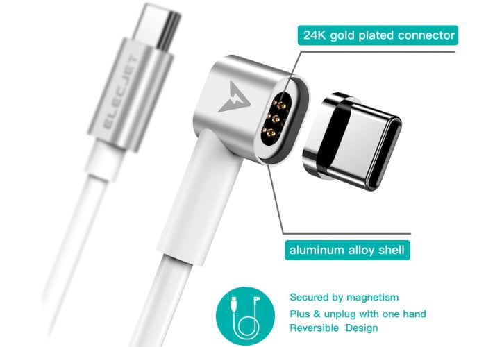 ELECJET MagJet magnetic Charging cable