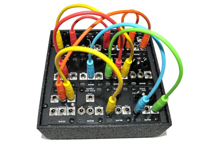 EuroTile affordable, portable modular Synthesiser