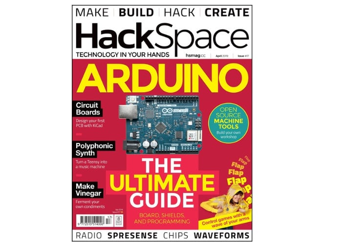 HackSpace magazine issue 17 now available