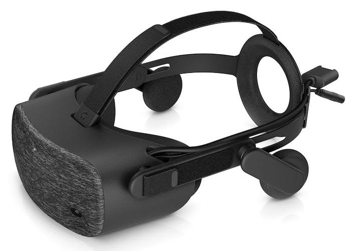 High resolution HP Reverb VR headset