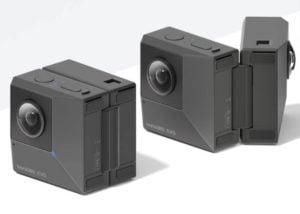 Insta360 folding Evo camera
