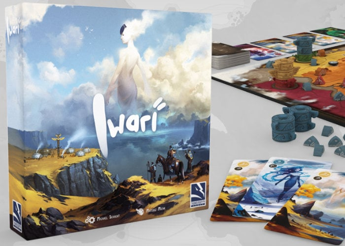 Iwari strategy board game