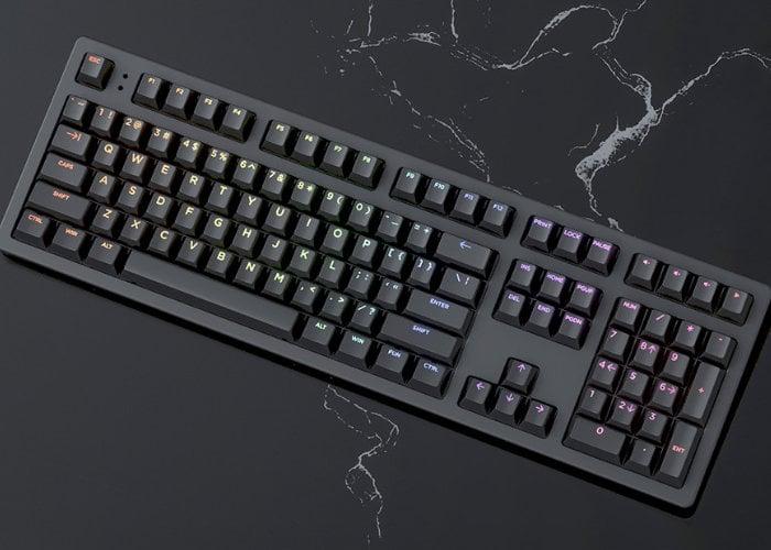 Keystone mechanical keyboard