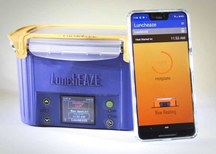 LunchEAZE portable self-heating lunchbox
