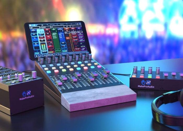 MakeProAudio MPA Platform offers a module audio control