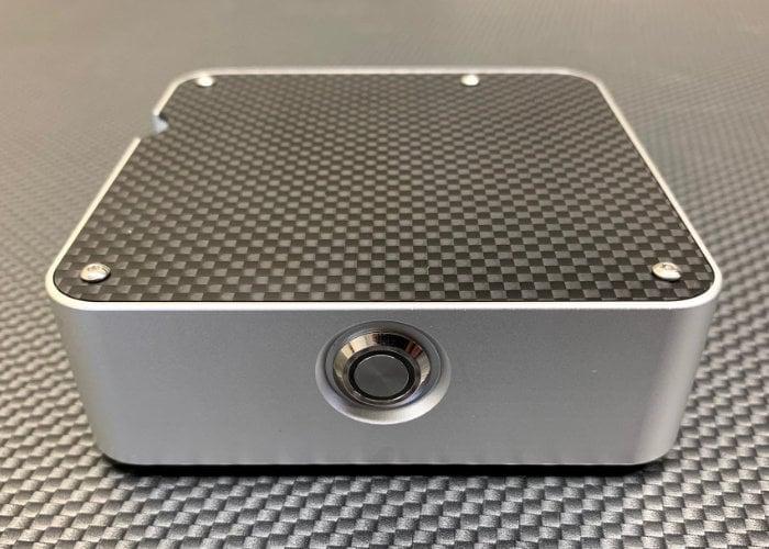 McPi carbon fiber an aluminum Raspberry Pi case