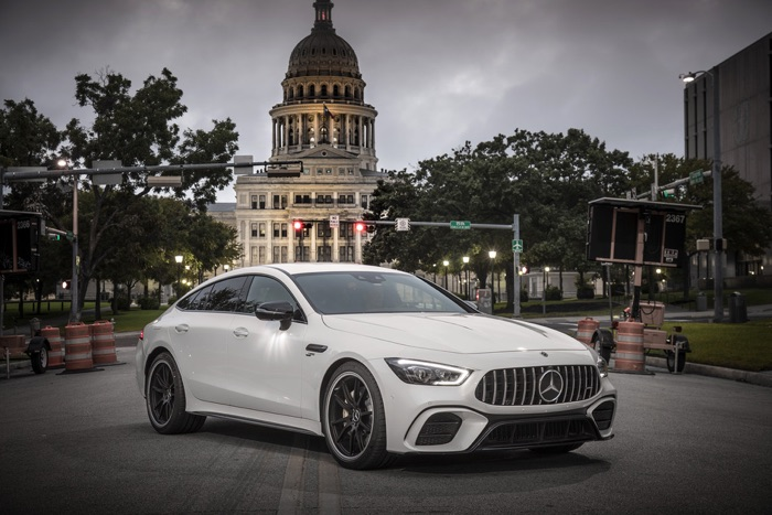 Mercedes AMG GT 53 4 Door Coupe