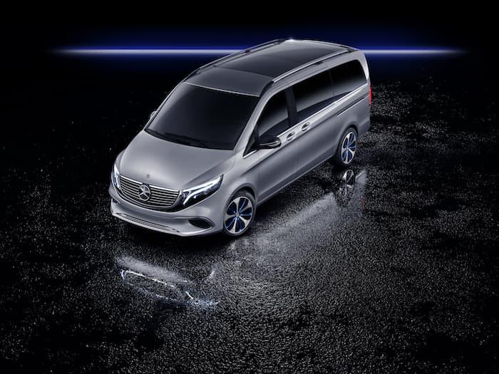 Mercedes Benz Concept EQV r