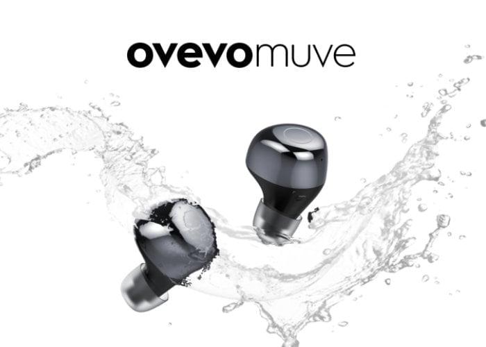 Muve swim-proof IPX7 waterproof wireless earbuds $34