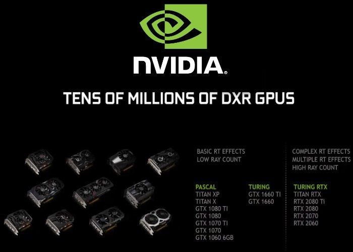 Nvidia brings a little RTX DirectX ray tracing to GTX graphics