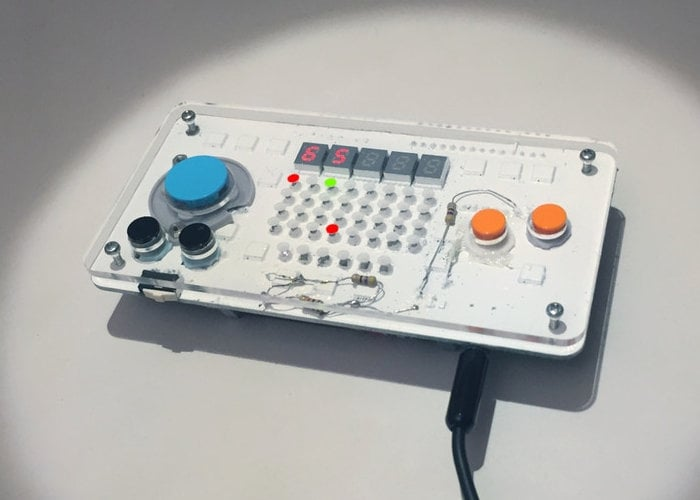 Nanoloop pocket handheld synthesiser and sequencer