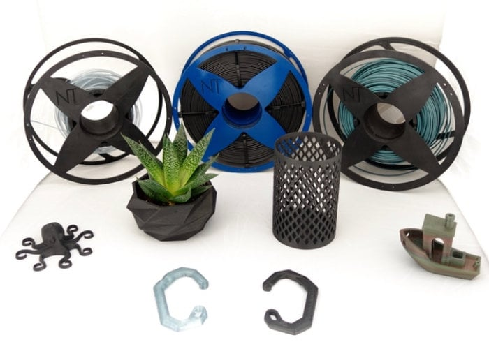 Nefilatek 100% recycled 3D printing filament