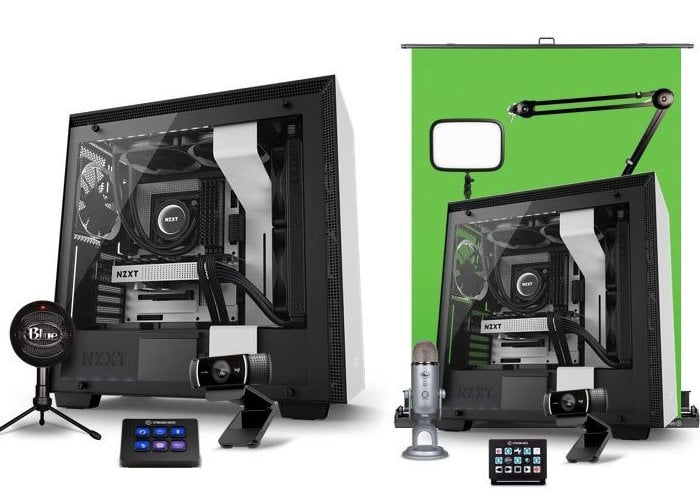 New NZXT streaming bundles