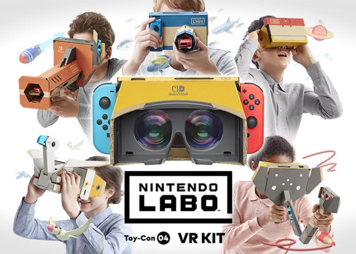 Switch VR Labo kits unveiled by Nintendo