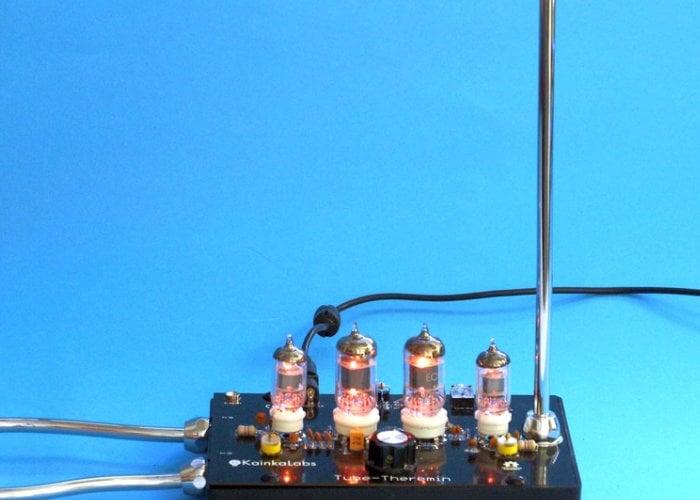 Nixie Tube Theremin instrument hits Kickstarter - Geeky Gadgets