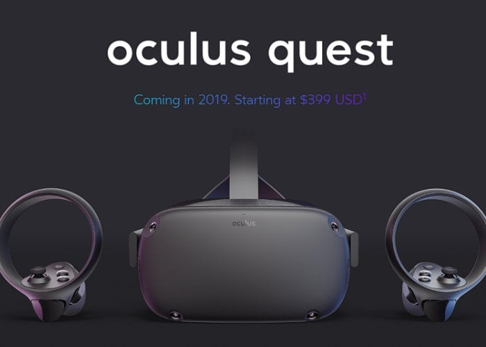 Facebook developing enterprise Oculus Quest and Go VR hardware