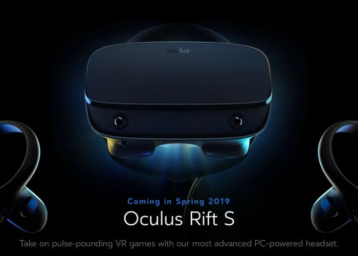Oculus Rift S $399 PC virtual reality headset unveiled by Facebook
