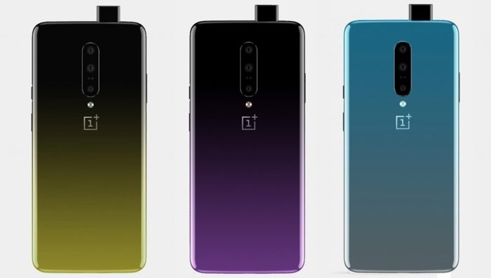 OnePlus 7 press renders leaked