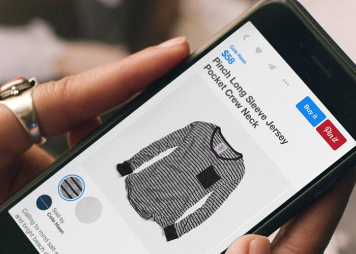 Pintrest enables Shopping Ads