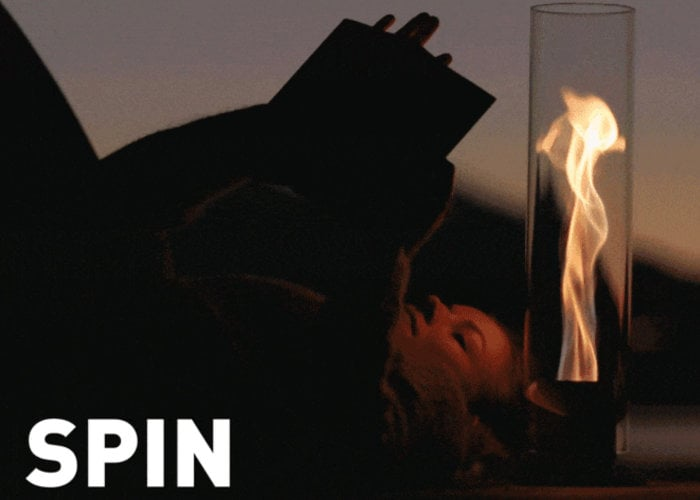 SPIN indoor and outdoor ambient flame light