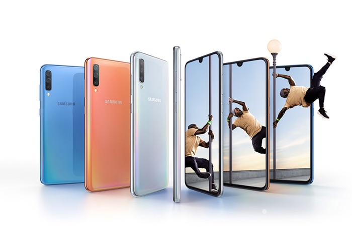 Samsung Galaxy A70 with triple rear camera launched