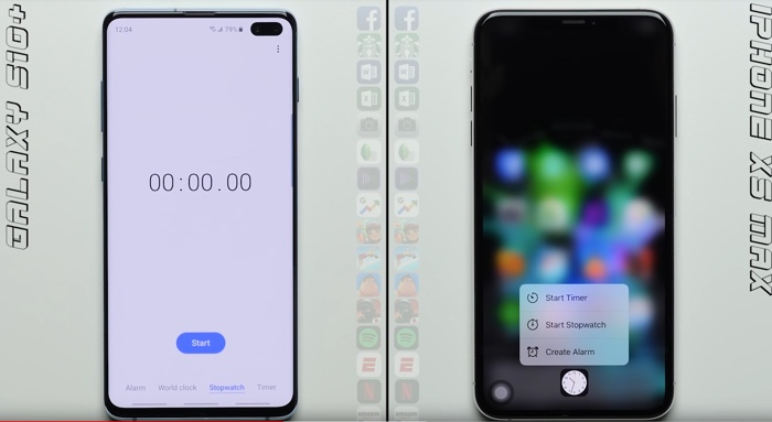 Samsung Galaxy S10+ vs iPhone XS Max (Video)