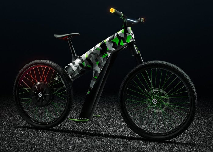Skoda Klement electric bike concept