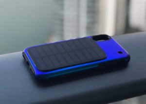 Soliz smartphone solar panel charging case