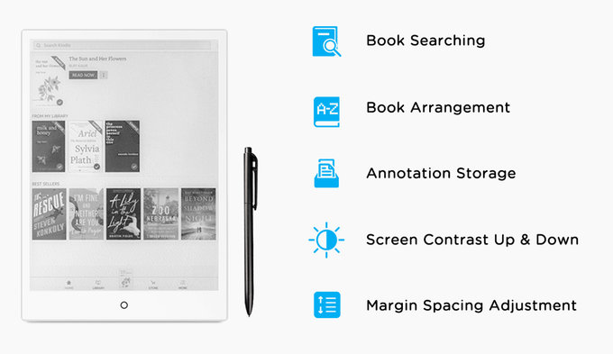 E-Ink Android tablet