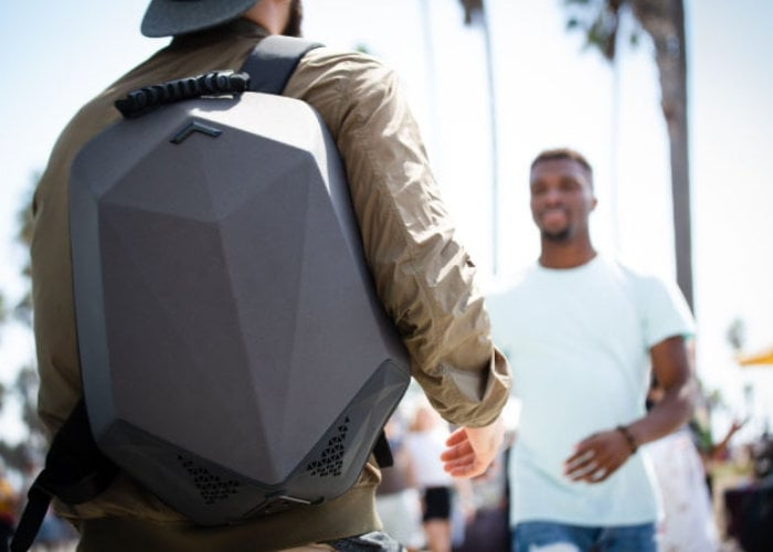 Stealth Labs Bluetooth speaker backpack