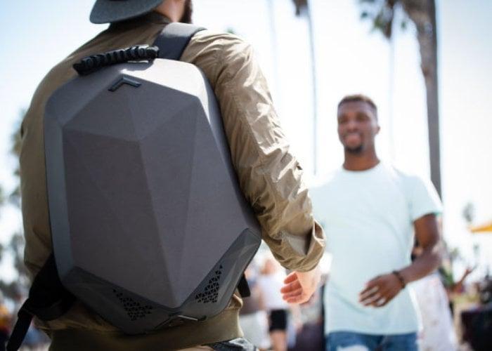 Stealth Labs Bluetooth speaker backpack