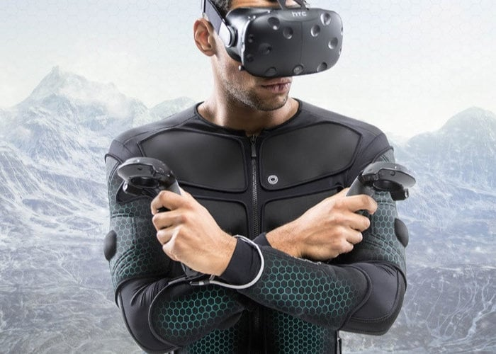 Teslasuit full body VR haptic suit