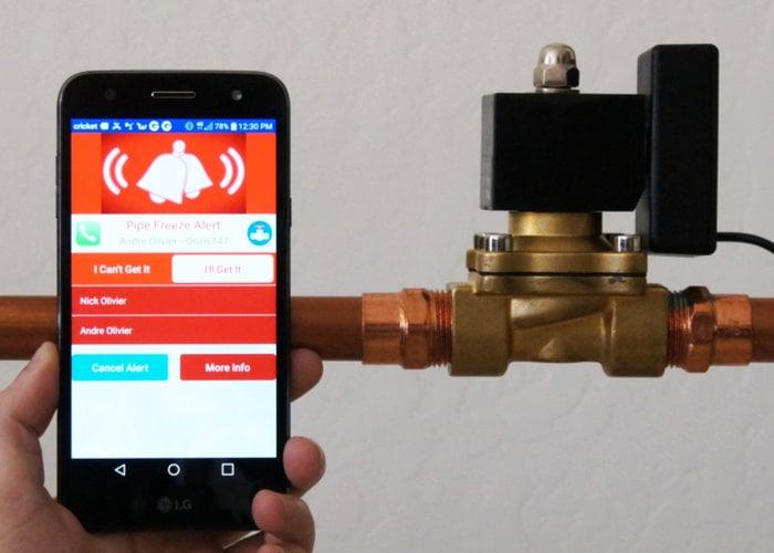 Trident smart water valve