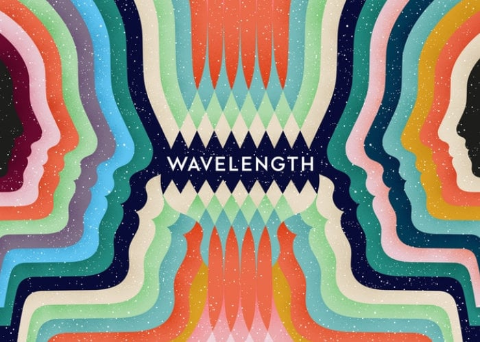 Wavelength telepathic party game