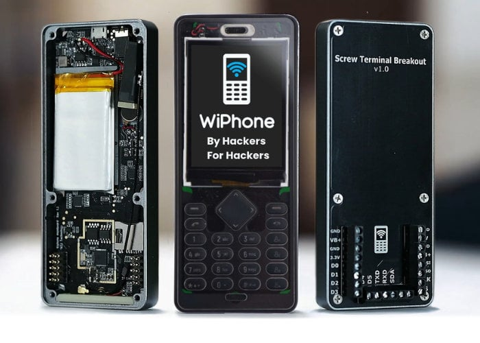 WiPhone VoIP mobile phone for hackers and makers