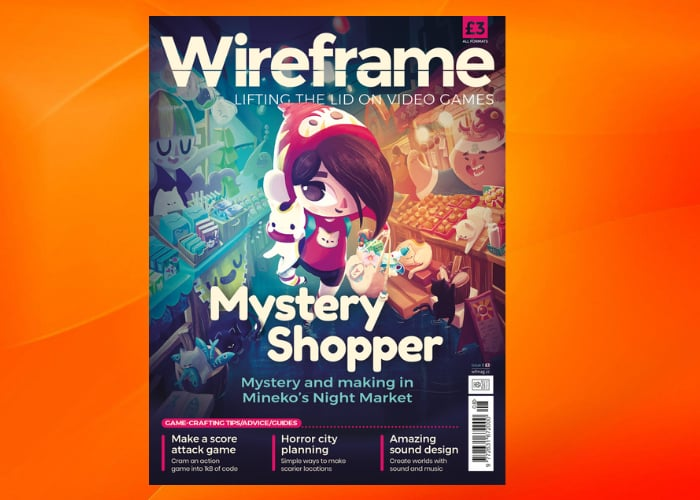 Wireframe gaming magazine issue 8