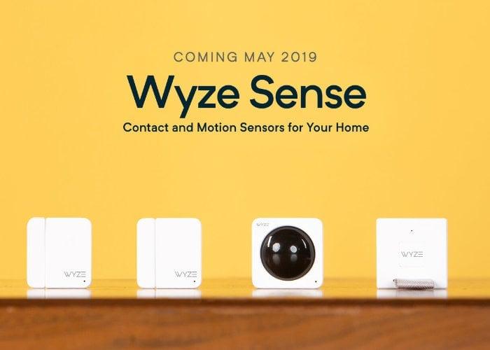 Wyze Sense system
